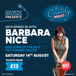 Buzz Presents.. Comedy Night (Stockport)
