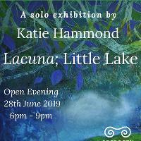 L a c u n a ; Little Lake - Exhibition by Katie Hammond