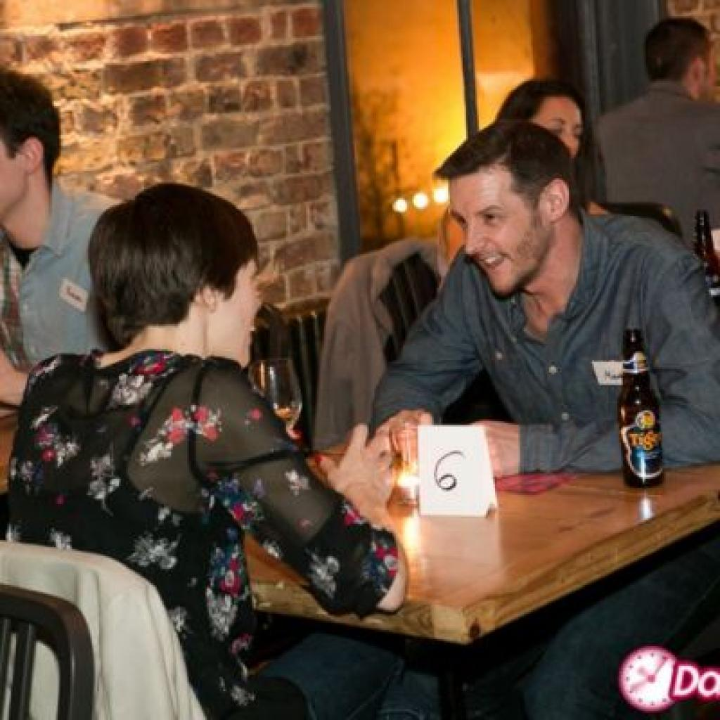 Speed dating for young adults in london