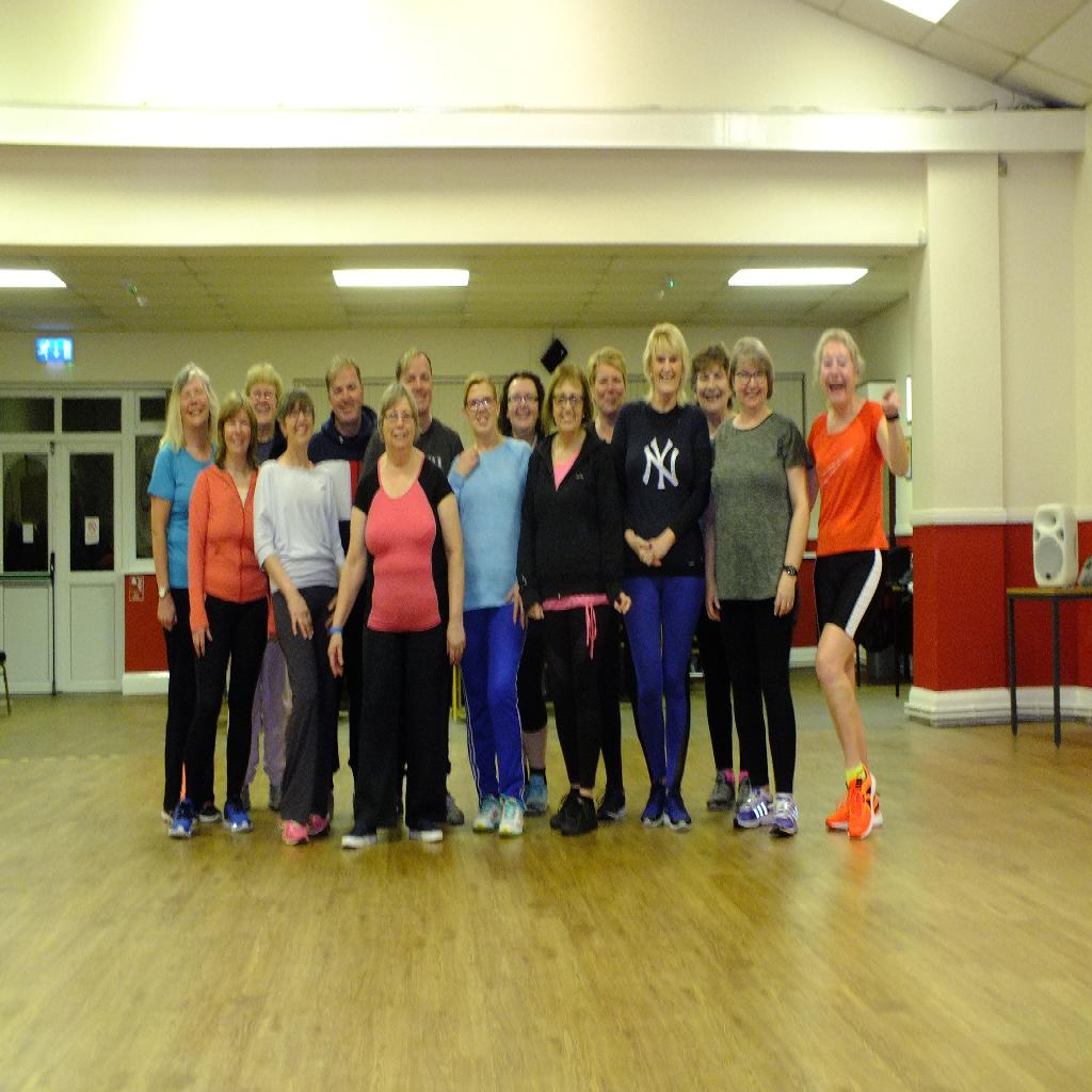 Disco, soul and funk dance fitness classes