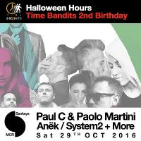 Time Bandits IBIZA presents Halloween Hours *2nd Birthday*