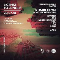 License To Jungle Invites Rumbleton