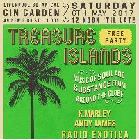 Treasure Islands Gin Garden Free Party