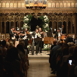 Vivaldi - The Four Seasons by Candlelight  Manchester Cathedral | Manchester Cathedral Manchester  | Sun 28th February 2021 Lineup