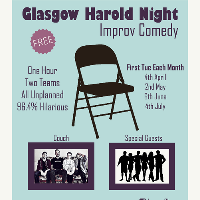 Glasgow Harold Night (free improv comedy)