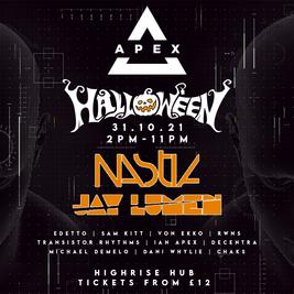 Apex Halloween: Nastia & Jay Lumen @ HighRise Hub