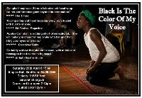 Black Is The Color Of My Voice - Inspired by Nina Simone