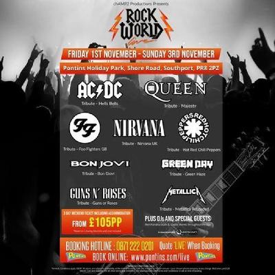 Rock World Live - The Ultimate Rock Weekender