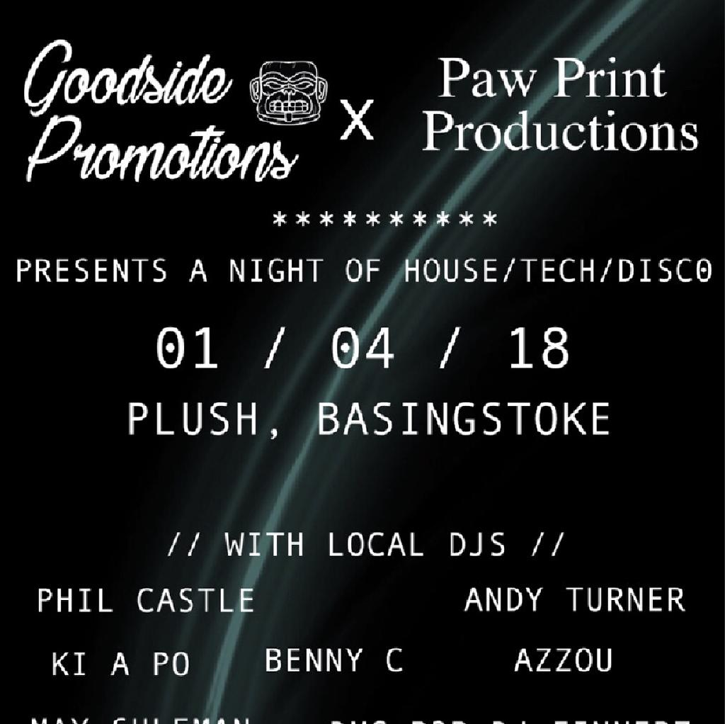 Goodside Promotions X Paw Print Productions