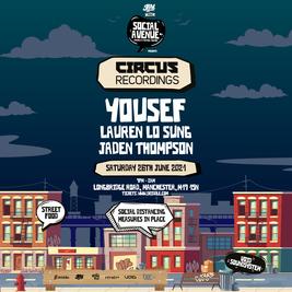 Social Avenue Indoor Series Presents: Circus W/ Yousef & more