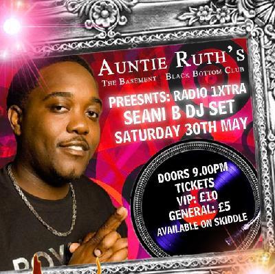 seani b radio 1xtra at auntie ruths the basement northampton