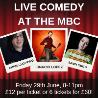 Live at The MBC Comedy Night