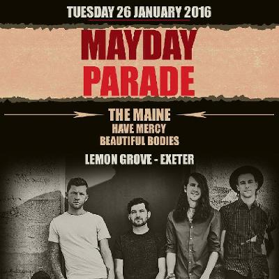 Mayday Parade + The Maine + Have Mercy + Beautiful Bodies