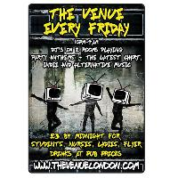 Friday Nights At The Venue