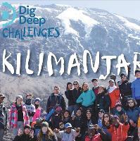 Kilimanjaro dig deep charity Comedy+Dinner FREE
