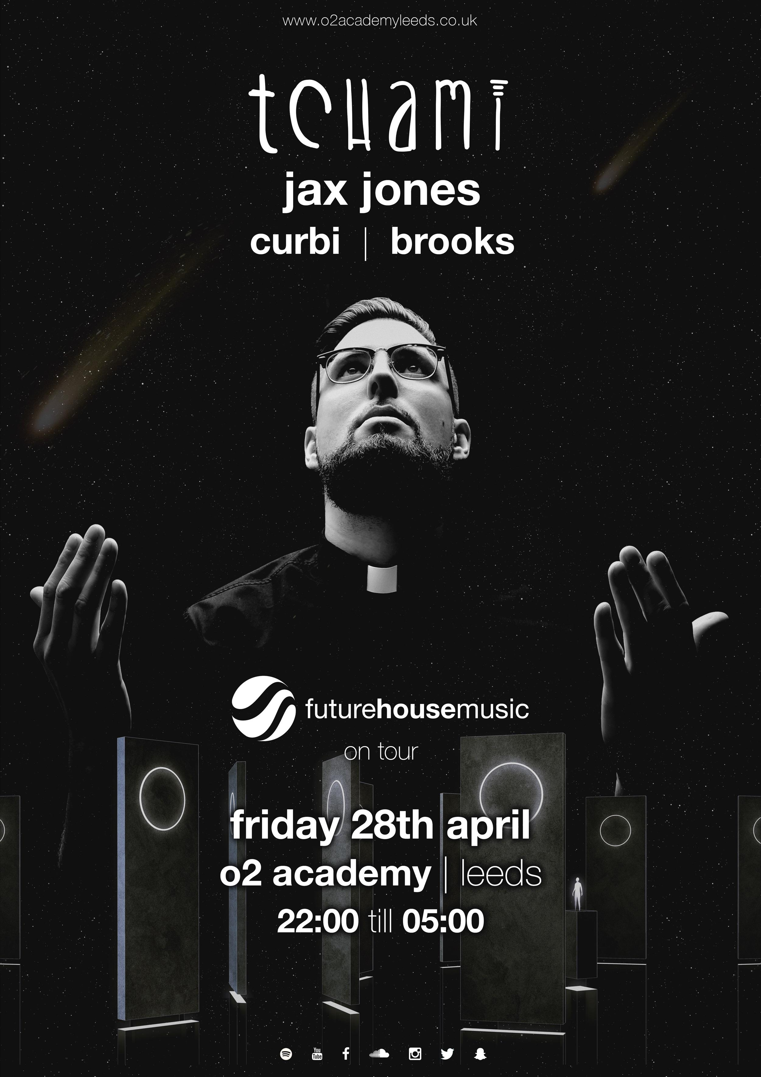 Future house music ft tchami tickets o2 academy leeds for Whats house music
