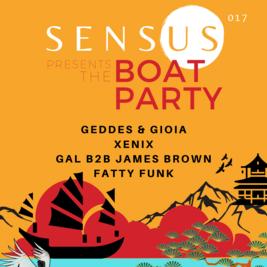 Sensus - Presents The Boat Party (2/3)