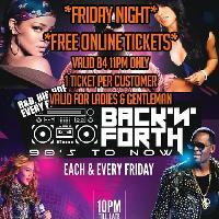 Karma Ealing - Back N Forth - Fri 9th  MAR - Free Online tickets