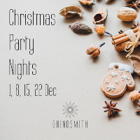 Christmas Party Nights at Grindsmith