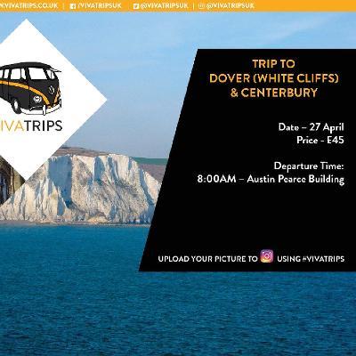 VIVA Trips: Surrey to Canterbury x White Cliffs of Dover