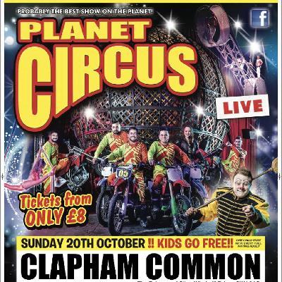 Planet Circus OMG!!! London, Clapham Common!