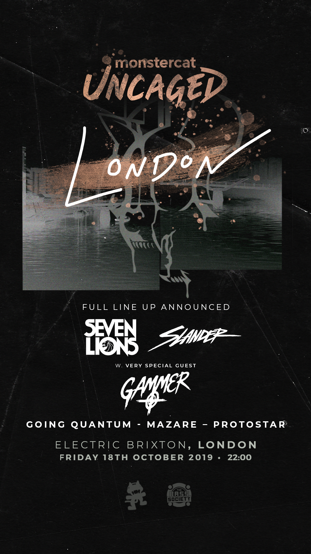 Monstercat presents Seven Lions  Tickets | Electric Brixton