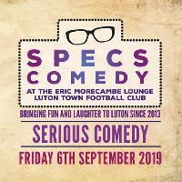 Specs Comedy - September 2019