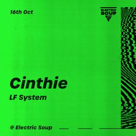 Cinthie & LF System at Soup