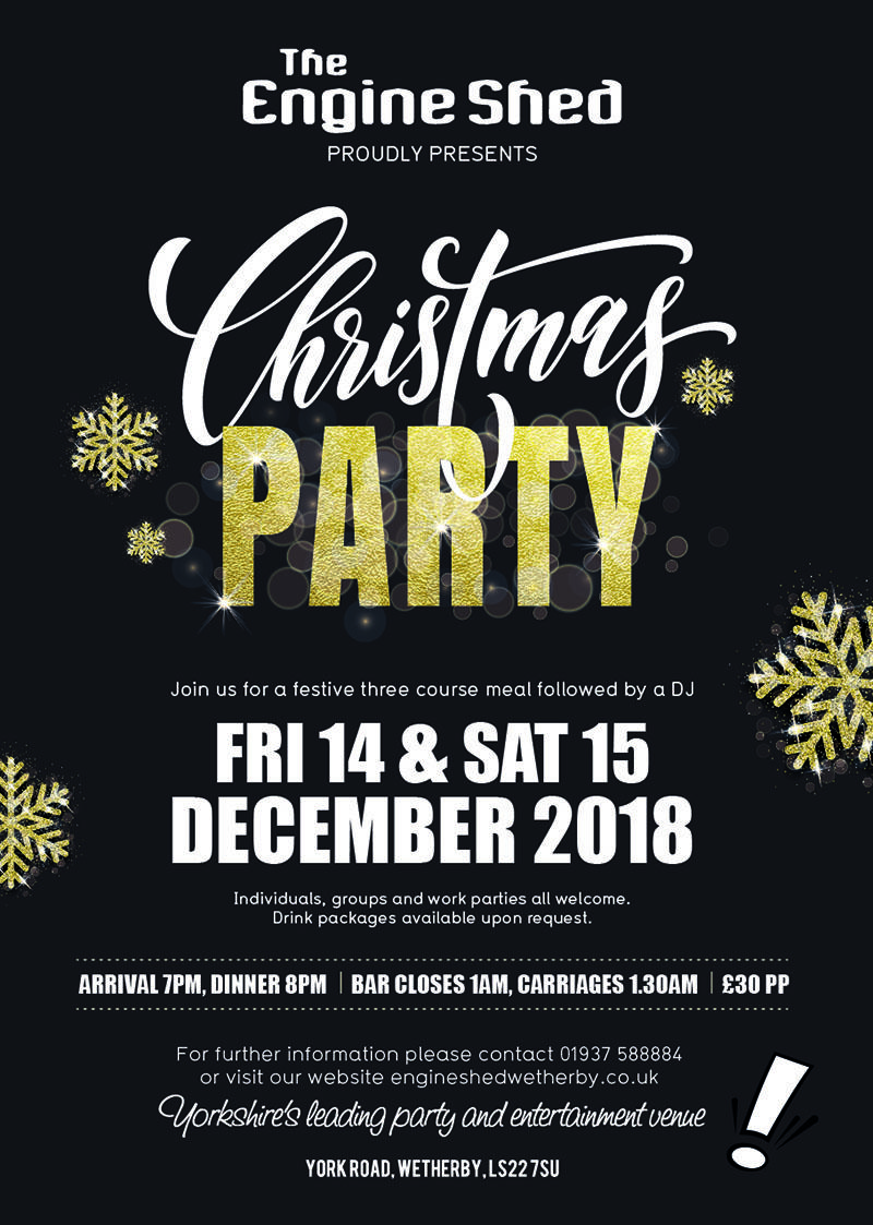 christmas party nights 2018 tickets