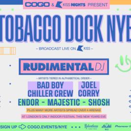 COGO presents  Tobacco Dock NYE