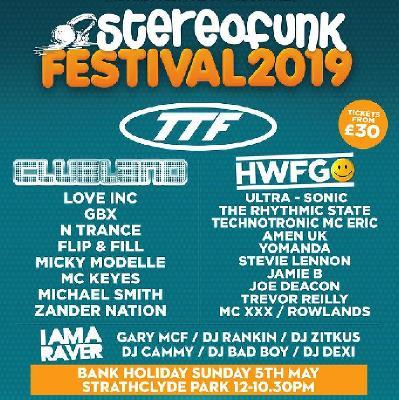 Stereofunk Festival 2019 Tickets | Strathclyde Country Park Hamilton