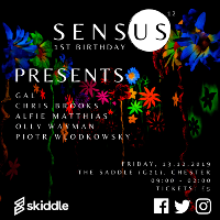 Sensus 12 | Presents the 1st Birthday