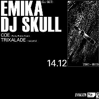 Incognito Radio w/ Emika (DJ Set) and DJ Skull