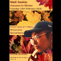 Madi Saskia: Autumn In Winter (Ages 14+)