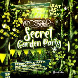 Born 2 Collide : The Secret Garden Party