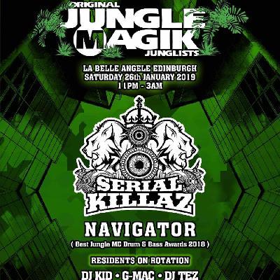 Jungle Magik - Official Launch Party
