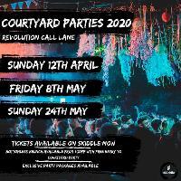 call lane courtyard party: bank holiday Friday 8th May