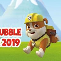 Meet Rubble from PAW Patrol on Sunday 1st September