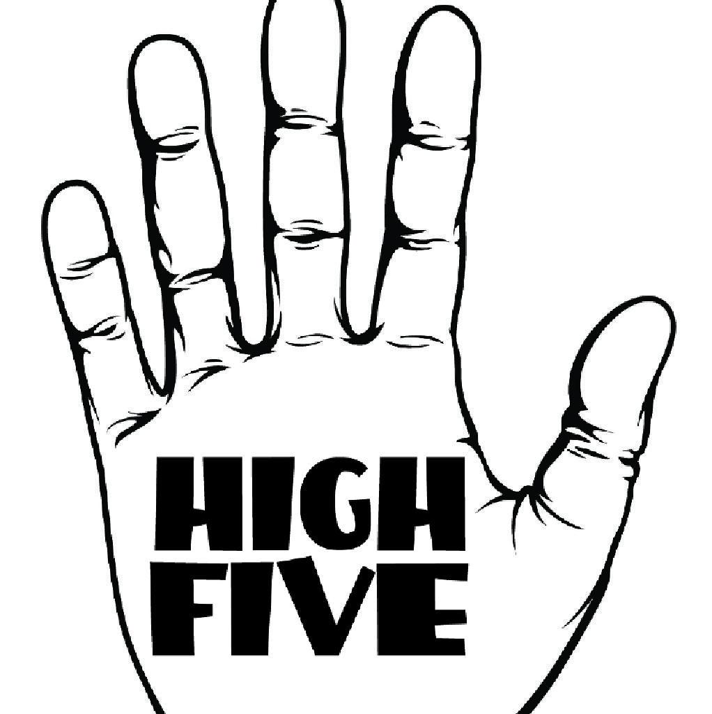high five tickets black dog ballroom nq manchester sat 25th