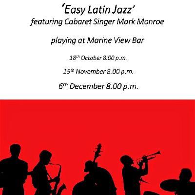 Cortado - 'Easy Latin Jazz' featuring Cabaret singer Mark Hoye