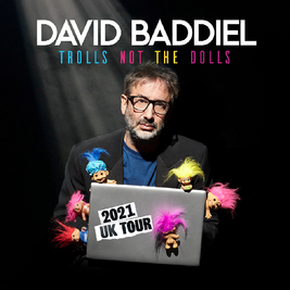David Baddiel Trolls: Not The Dolls