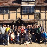 Monday Town Walk in Shakespeare's Stratford
