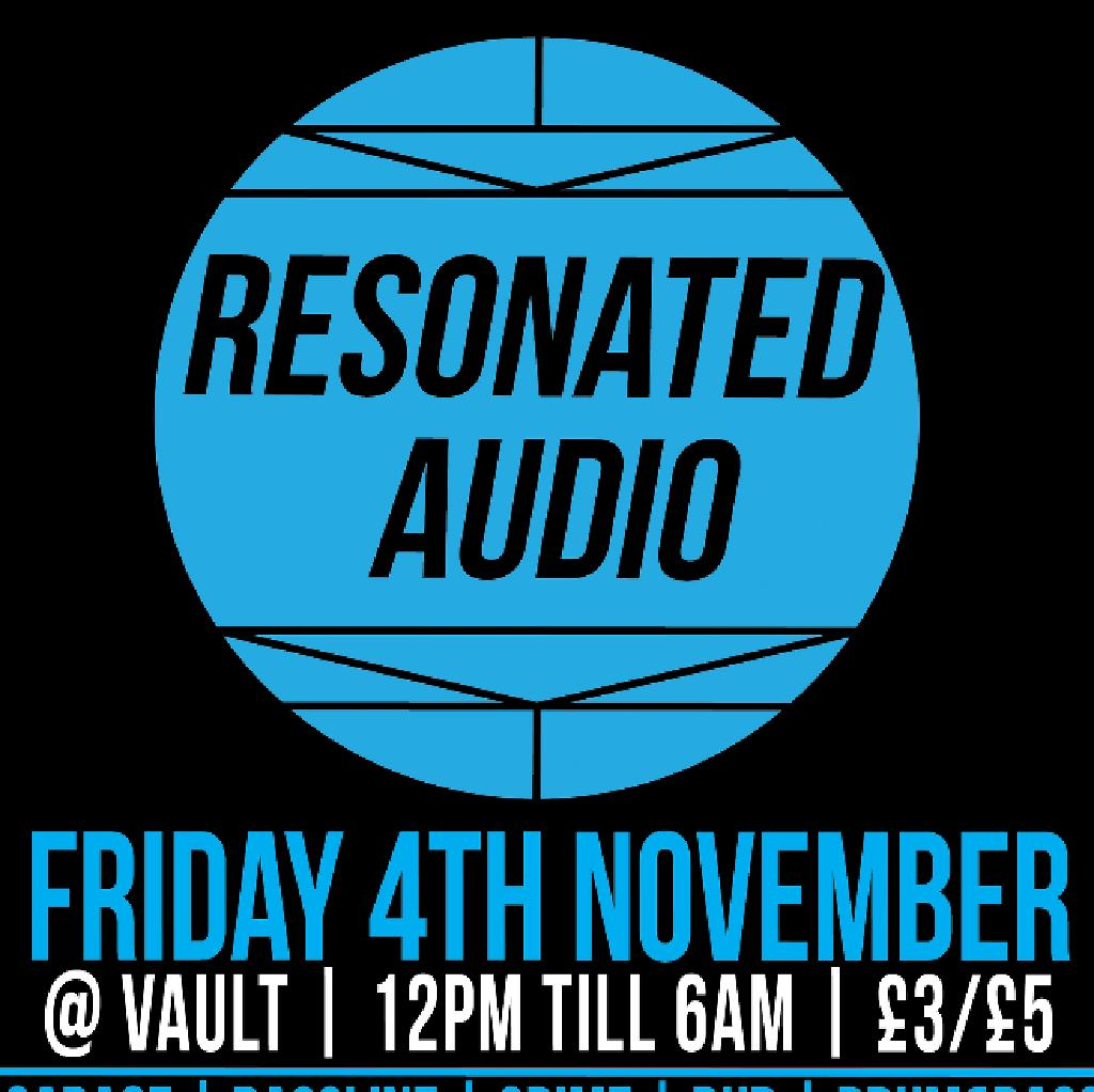 Resonated Audio presents: Town Friday. W/ Manny P, Gridmaster at The Vault
