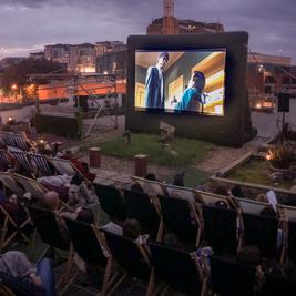 The Rooftop Cinema - Top Gun