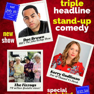 Live At The Civic - Doc Brown/Kerry Godliman/The Fizzogs
