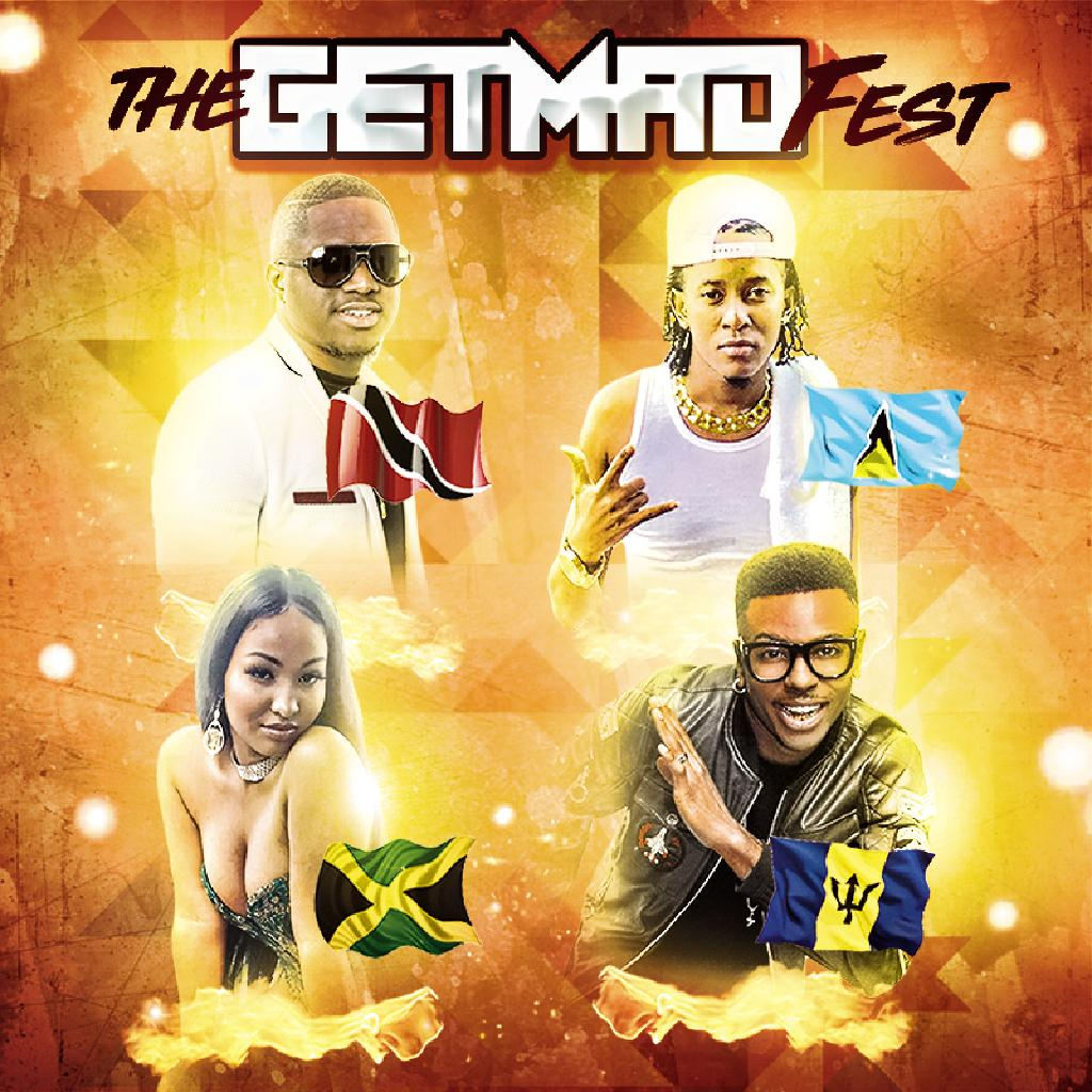 The Get Mad Fest 2018 - Notting Hill Carnival concert