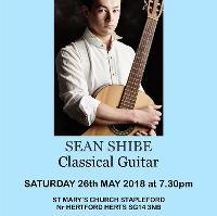 Sean Shibe Classical Guitar Concert