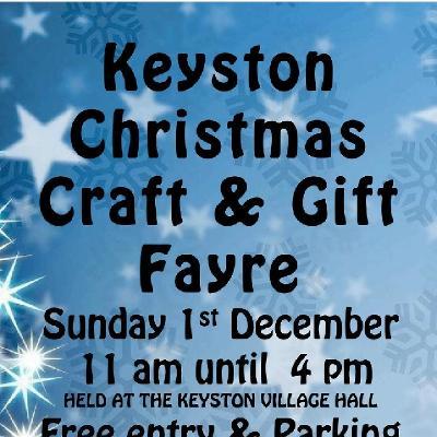 Keyston Christmas Craft and Gift Fayre