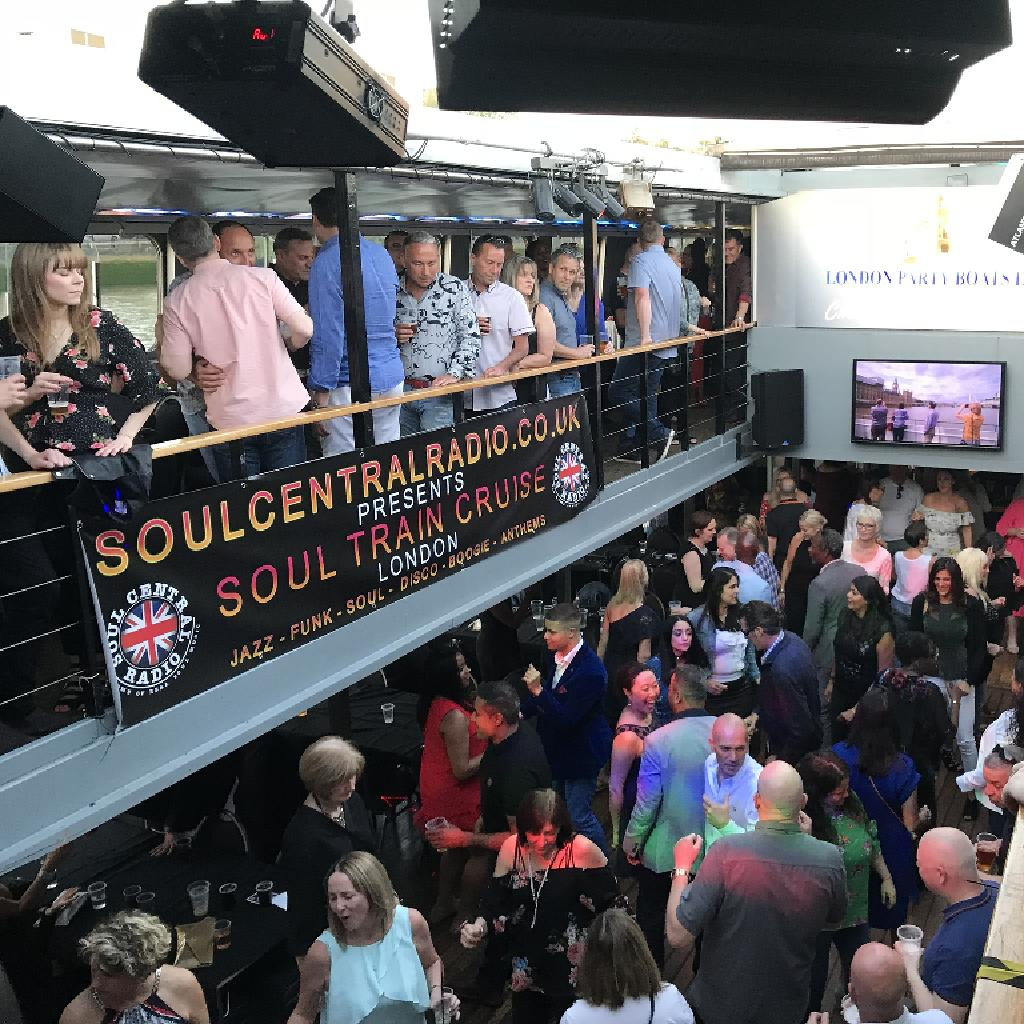 London Soul Train cruise (Spring special) Soul boat 4th May 2019
