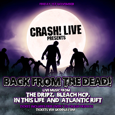 Crash! Live - Back From The Dead